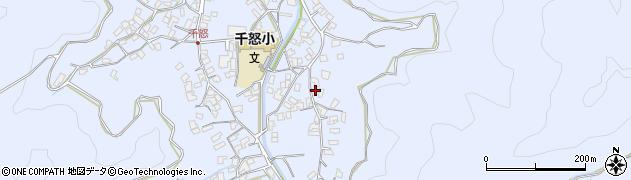 大分県津久見市千怒2799周辺の地図