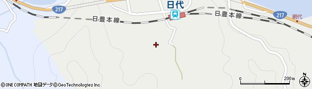 大分県津久見市網代390周辺の地図