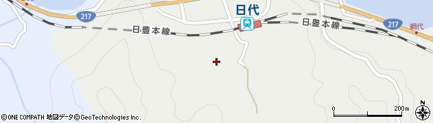 大分県津久見市網代398周辺の地図