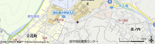 大分県津久見市津久見3173周辺の地図