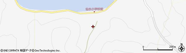 大分県津久見市四浦1522周辺の地図