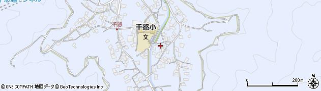 大分県津久見市千怒2766周辺の地図