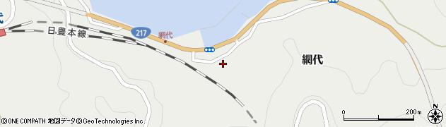 大分県津久見市網代2164周辺の地図