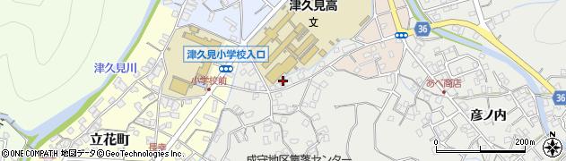 大分県津久見市津久見3181周辺の地図