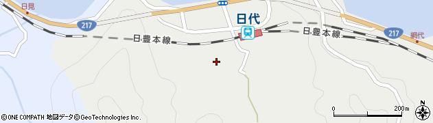 大分県津久見市網代404周辺の地図