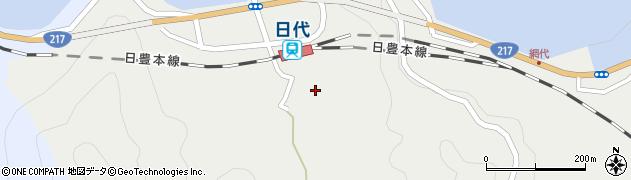 大分県津久見市網代511周辺の地図