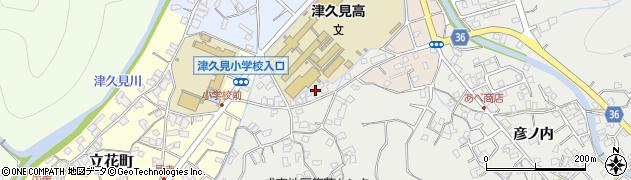 大分県津久見市津久見3187周辺の地図