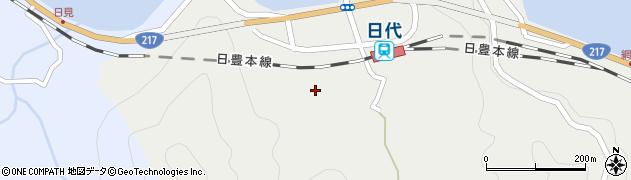 大分県津久見市網代408周辺の地図