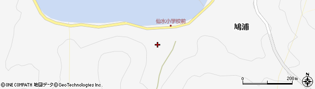 大分県津久見市四浦1499周辺の地図