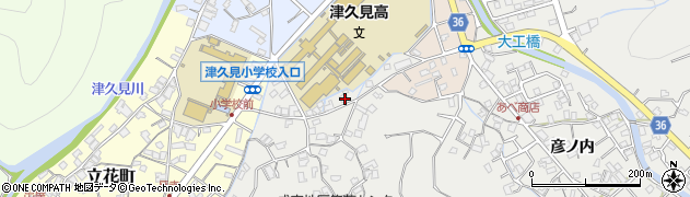 大分県津久見市津久見3189周辺の地図