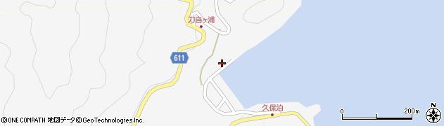大分県津久見市四浦7427周辺の地図
