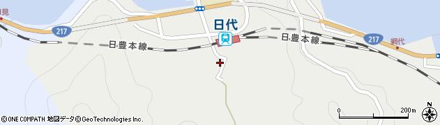 大分県津久見市網代471周辺の地図