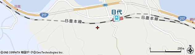 大分県津久見市網代413周辺の地図