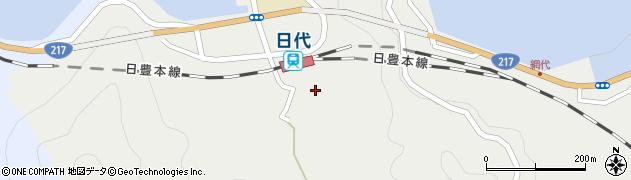 大分県津久見市網代479周辺の地図