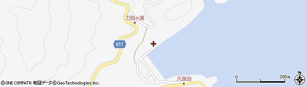 大分県津久見市四浦2948周辺の地図