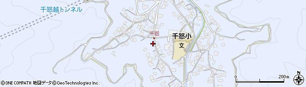 大分県津久見市千怒1554周辺の地図