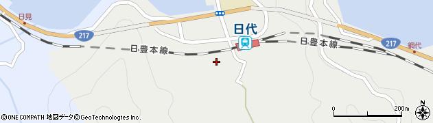 大分県津久見市網代415周辺の地図