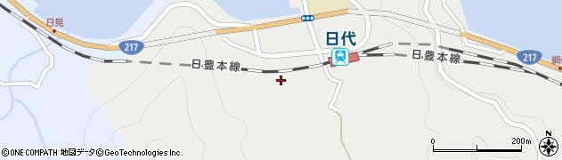 大分県津久見市網代412周辺の地図
