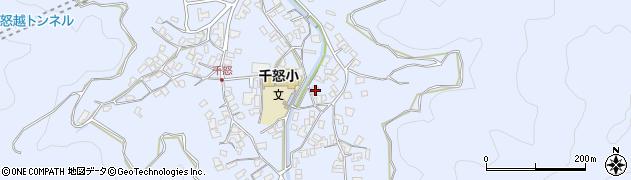大分県津久見市千怒2819周辺の地図