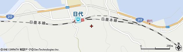 大分県津久見市網代502周辺の地図