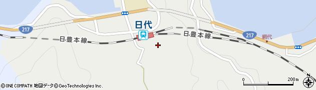 大分県津久見市網代487周辺の地図