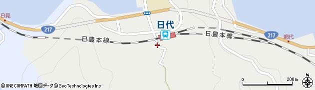 大分県津久見市網代425周辺の地図