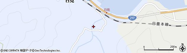 大分県津久見市日見2181周辺の地図