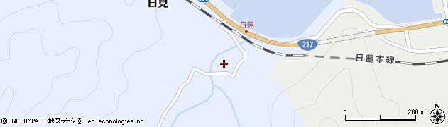 大分県津久見市日見2183周辺の地図