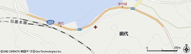 大分県津久見市網代2308周辺の地図