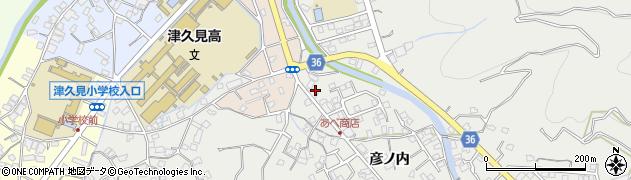 大分県津久見市津久見2644周辺の地図