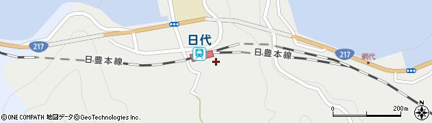 大分県津久見市網代483周辺の地図