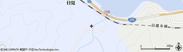 大分県津久見市日見1540周辺の地図