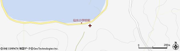 大分県津久見市四浦1445周辺の地図