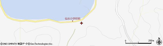 大分県津久見市四浦1680周辺の地図