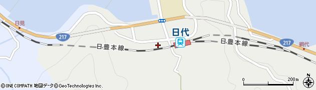大分県津久見市網代5798周辺の地図