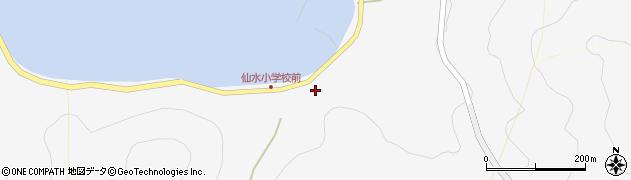 大分県津久見市四浦1707周辺の地図