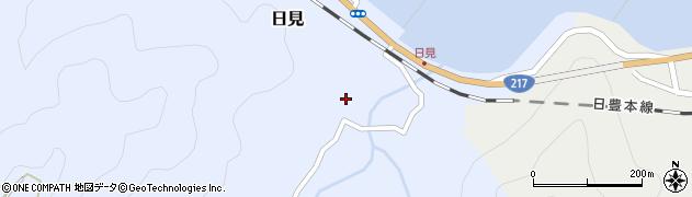 大分県津久見市日見1507周辺の地図