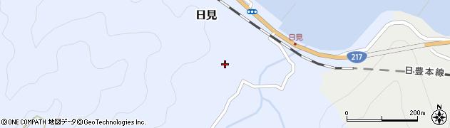 大分県津久見市日見1644周辺の地図
