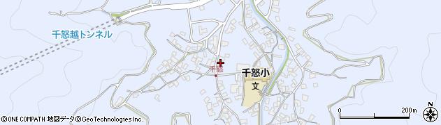 大分県津久見市千怒1062周辺の地図