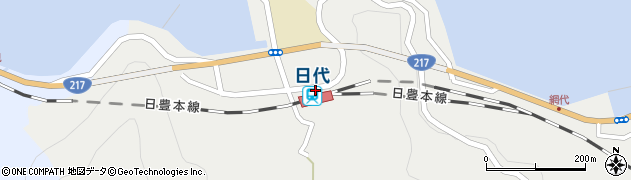 大分県津久見市網代5793周辺の地図