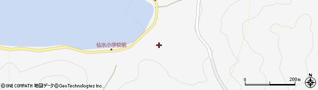 大分県津久見市四浦1695周辺の地図