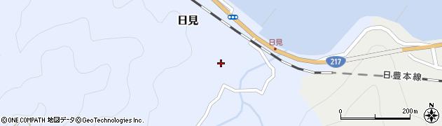 大分県津久見市日見1505周辺の地図