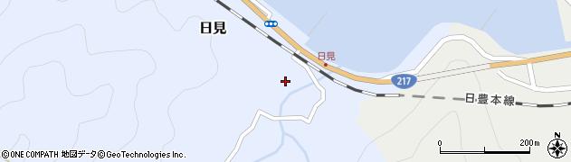 大分県津久見市日見1537周辺の地図