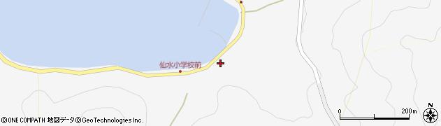 大分県津久見市四浦1535周辺の地図