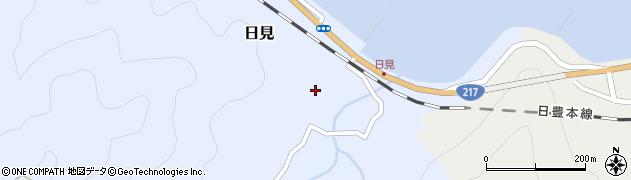 大分県津久見市日見1509周辺の地図