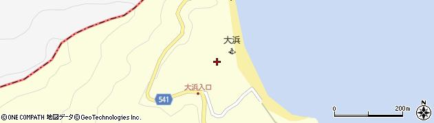 大分県佐伯市上浦大字最勝海浦22周辺の地図