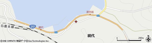 大分県津久見市網代2312周辺の地図