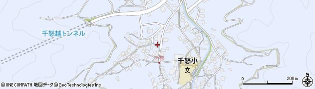 大分県津久見市千怒1537周辺の地図