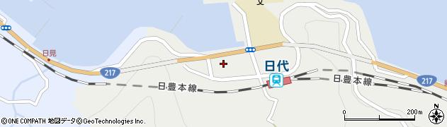 大分県津久見市網代95周辺の地図