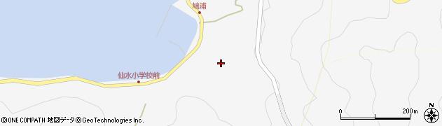 大分県津久見市四浦1668周辺の地図